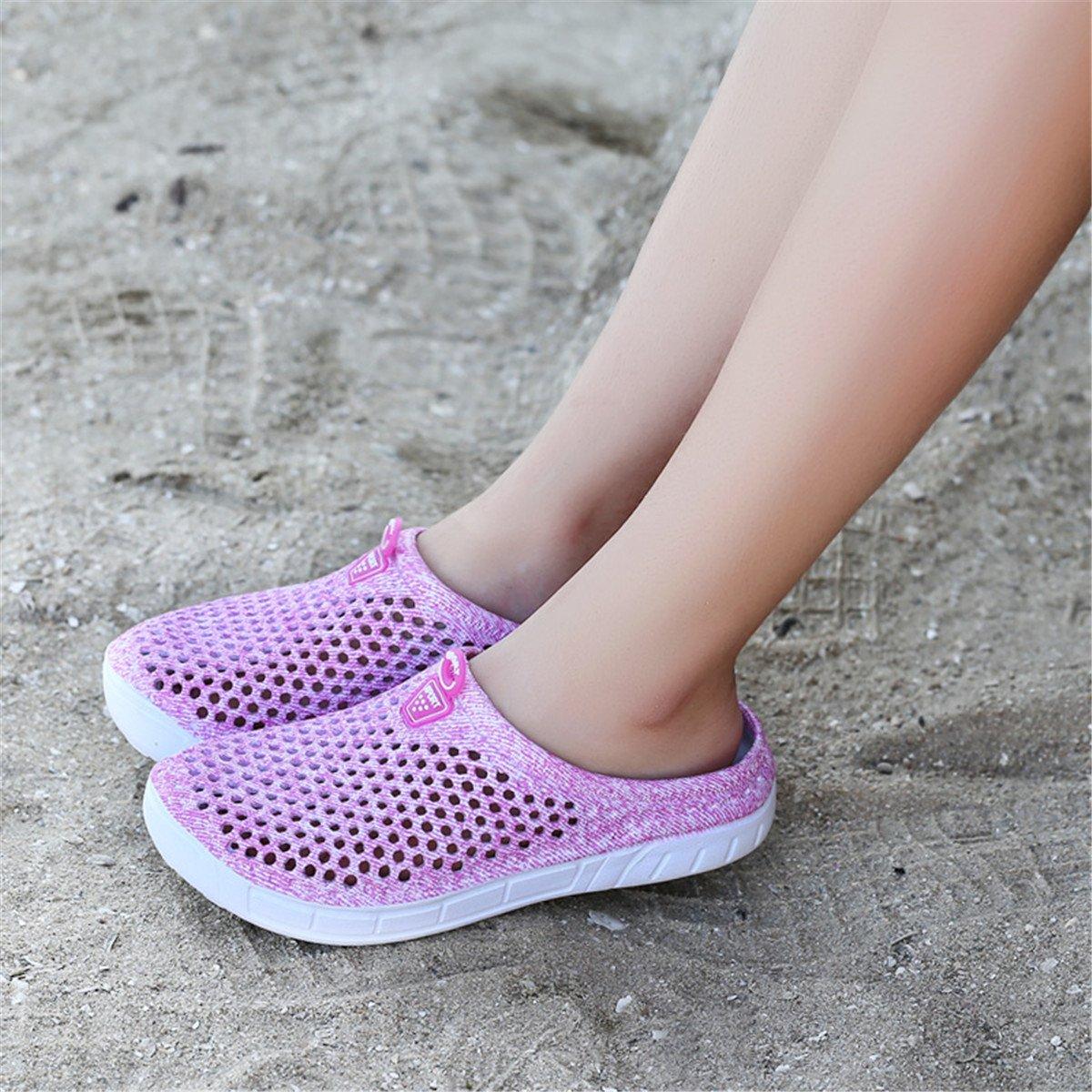 Ginjang Women's Garden Clogs Shoes Slip-on Slippers Sandals(39/Pink) by Ginjang (Image #6)