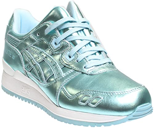 new product 4d584 fef82 ASICS Womens Gel-Lyte Iii Running Casual Sneakers,