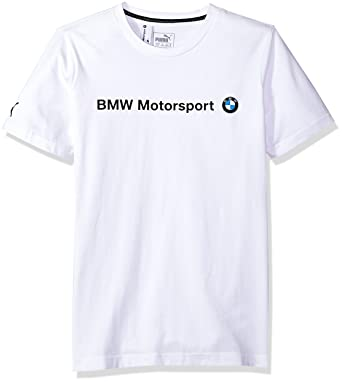 48dfd6adf Amazon.com  PUMA Men s BMW Motorsport Logo T-Shirt  Clothing
