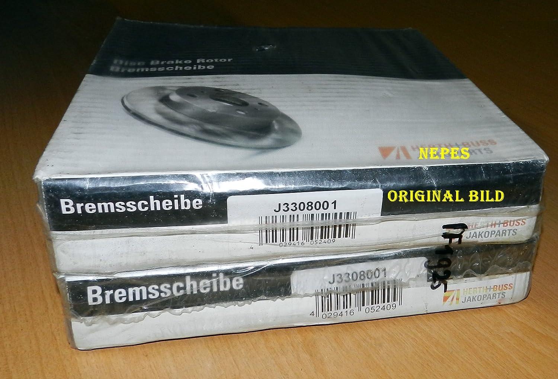 Herth mit Buss Jakoparts J3308001 disco de freno unidad