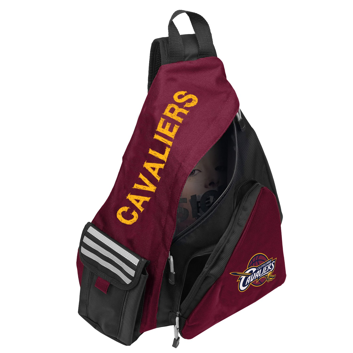 Officially Licensed NBA Cleveland Cavaliers Leadoff Slingbag