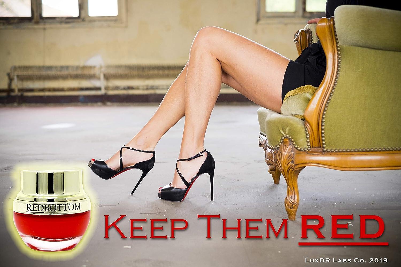 c30b796b236 Amazon.com: LuxDR RedBottom Rx Premium Luxury Red Soles Protective ...