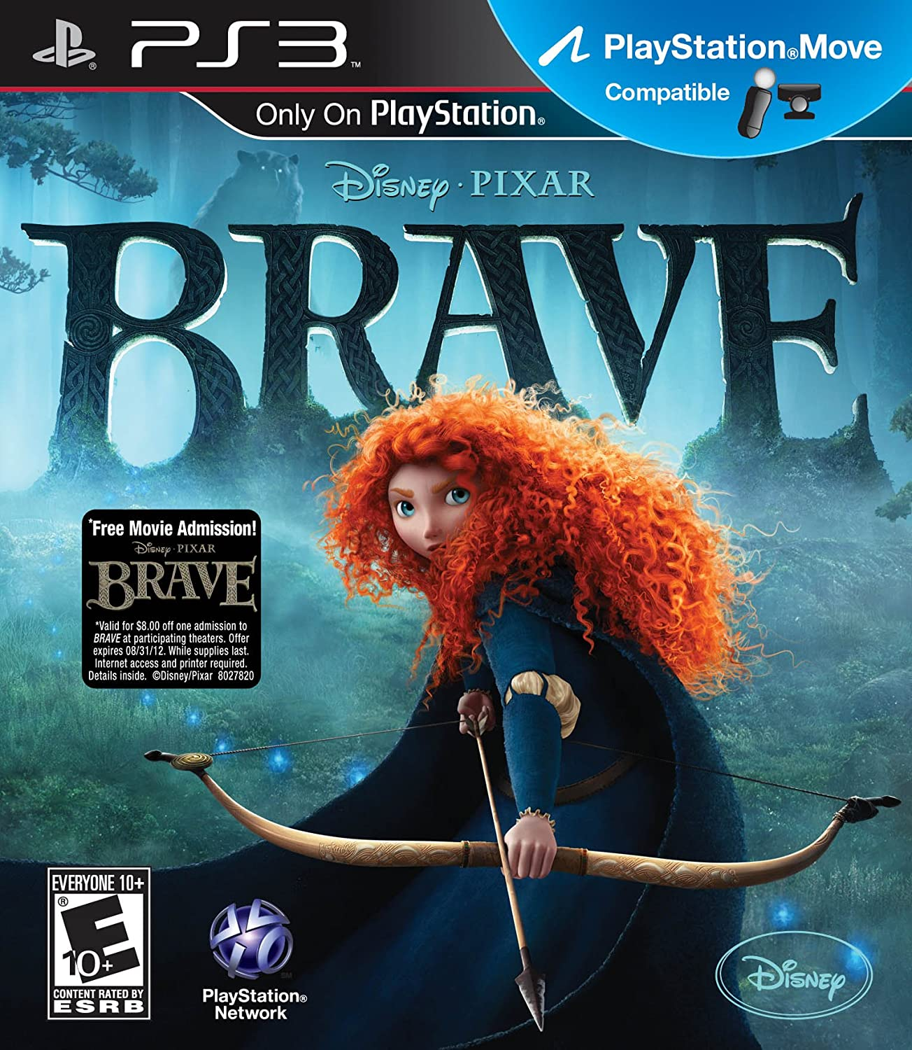 Amazoncom Brave Playstation 3 Video Games