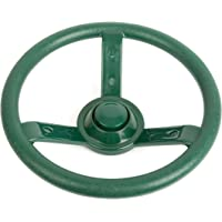 Small Foot 10881 Steering Wheel Made of Robust, Weather-Resistant Material for The Garden or in The House, incl. mountinga, Suitable for Children from 3 Years and up