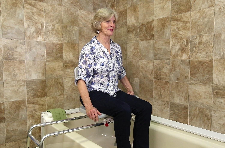 Amazon.com: Eagle Health Supplies - Swivel Sliding Bath Transfer ...