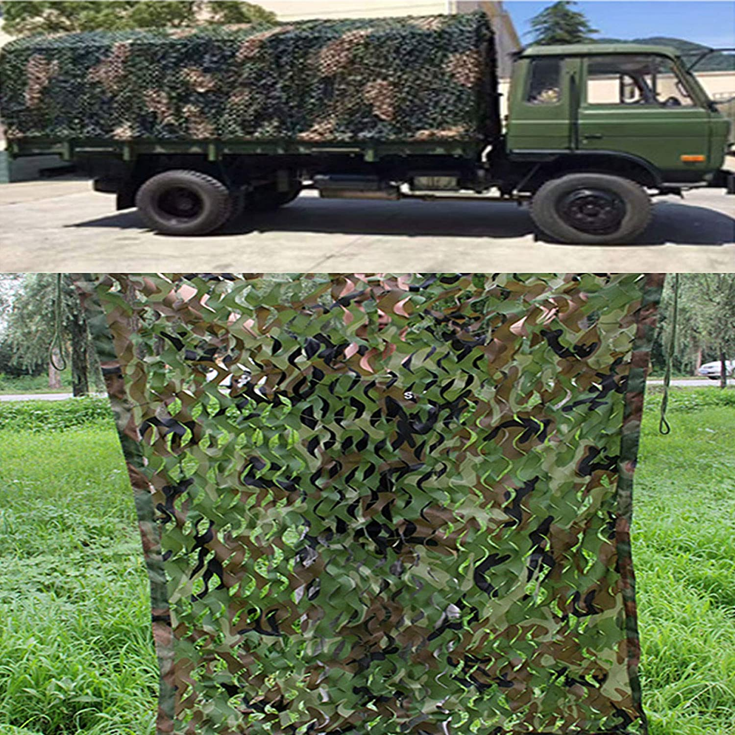 XYNH Camouflage Netting,Camo Netting Woodland Camouflage Net,Sun Shade Sail, Camping, Shooting, Hunting, Decoration,Awning for Outdoor,Canopy Sail