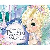 """Depesche 7915 - libro con pegatinas """"Crea tu mundo de fantasía"""""""