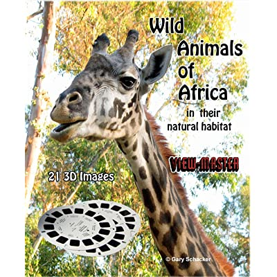 Viewmaster WILD ANIMALS OF AFRICA - In their natural habitat - 3 Reels 21 3D Images: Toys & Games