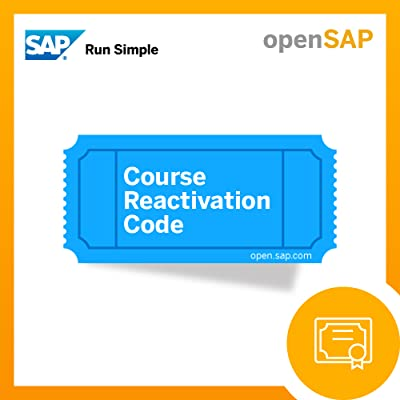 openSAP Reactivation Code [Online Code]