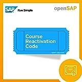 openSAP Reactivation Code [Online Code]