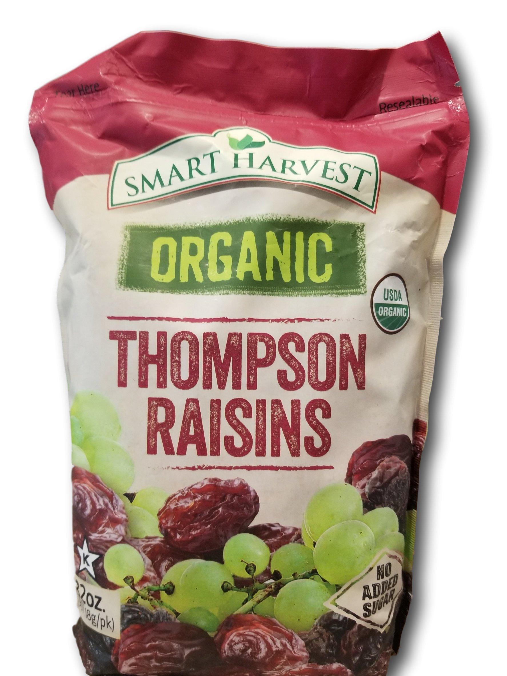 Smart Harvest Organic Thompson Raisins