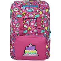 Smily kiddos   Smily Fancy Backpack (Pink)   Travel Backpack for kids   Backpack for Boys & Girls   Girls Stylish Bag…