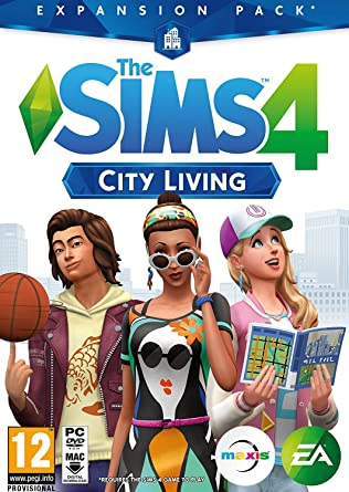 The Sims 4 City Living Expansion Pack Download Code In A Box Pc Windows Computer And Video Games Amazon Ca
