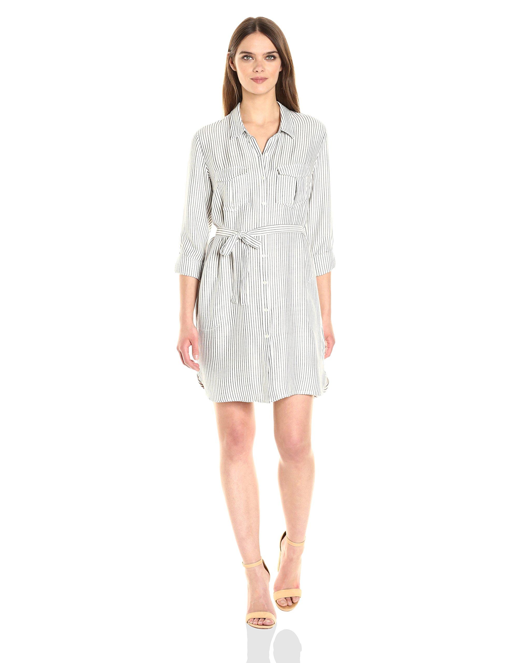 Joie Women's Wila B Dress, Porcelain/Caviar, M