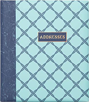 Gibson 6-Ring Binder Refillable Address Book Ocean Theme 6.5 x 7.25 C.R