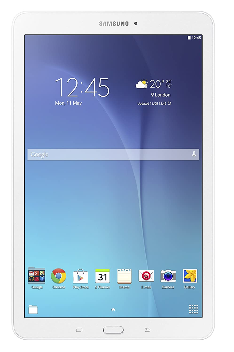 samsung sm t560nzwabtu galaxy tab e 9 6 inch wi fi tablet white rh amazon co uk