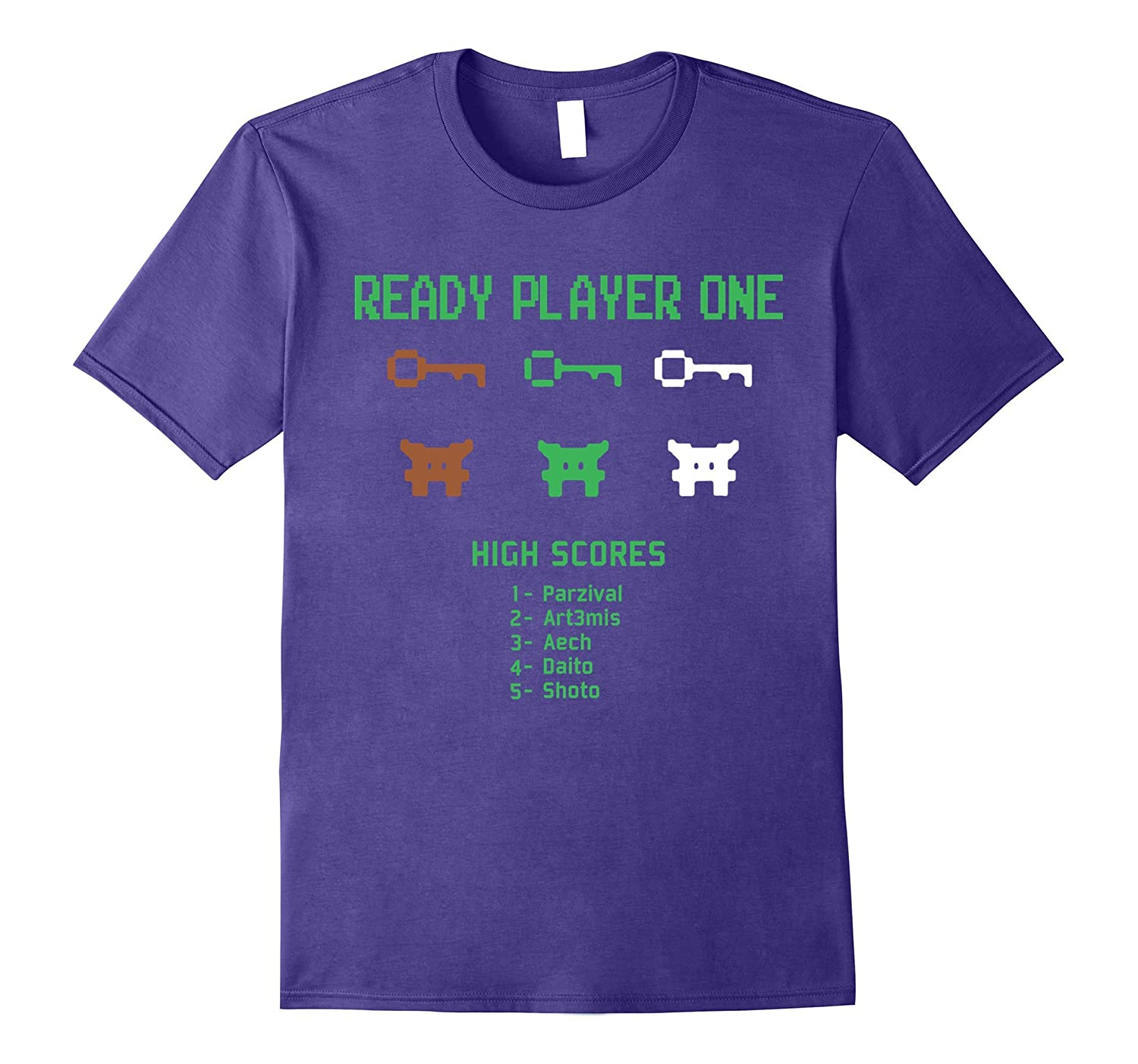 Video Games T-Shirt, Ready Play One Shirt-CL