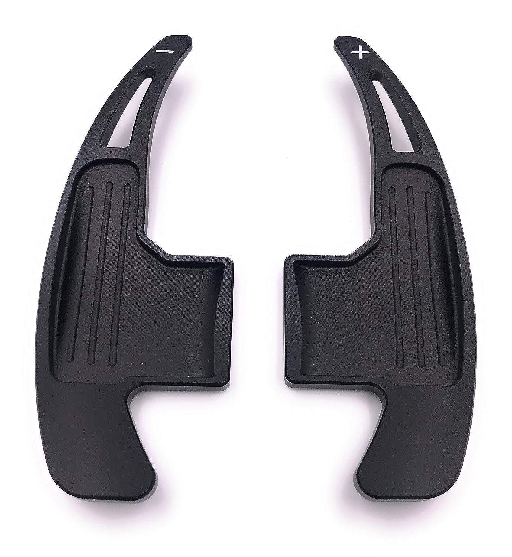 H-Customs DSG DKG Schaltwippen Verl/ängerung Shift Paddle Mustang 15-17 Schwarz
