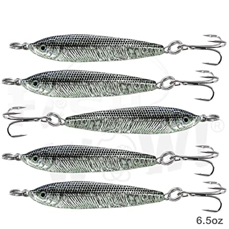 how to hook a live anchovy