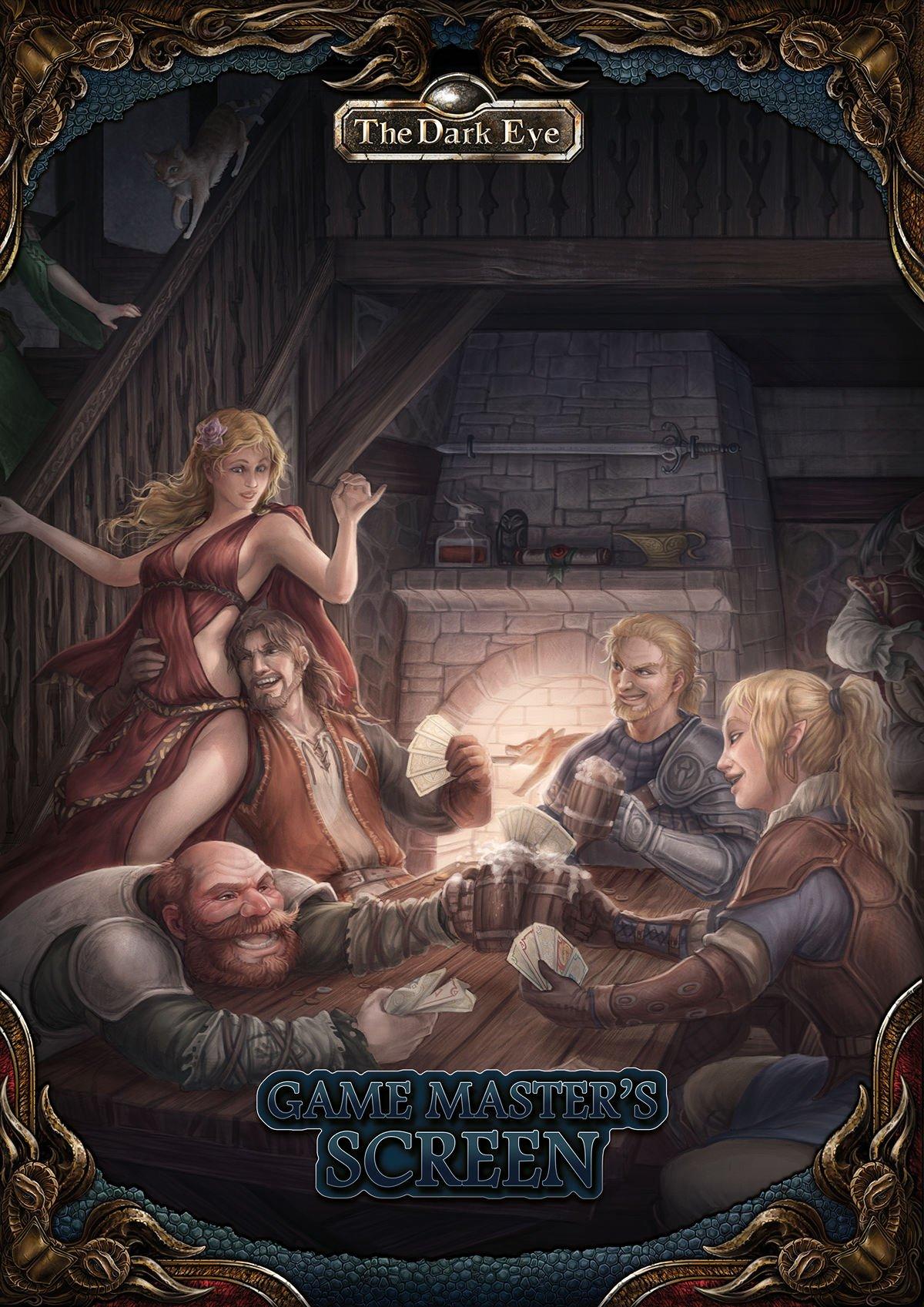 The Dark Eye Game Master Screen: Includes Inns & Taverns (Inglese) Copertina rigida – 9 mag 2017 Thomas Roy Craig Gudrun Schurer Alex Spohr Jens Ullrich