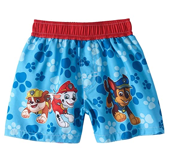 c5d1f9829d Amazon.com: Paw Patrol Baby Boys' Swim Trunks: Clothing