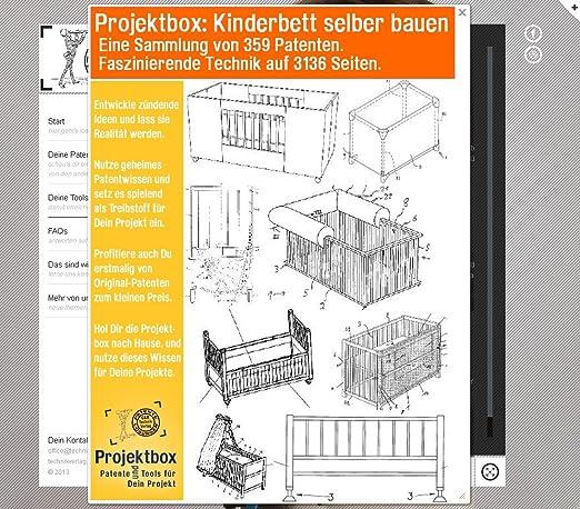 Kinderholzbett selber bauen  Kinderbett selber bauen: Deine Projektbox inkl. 359 Original ...