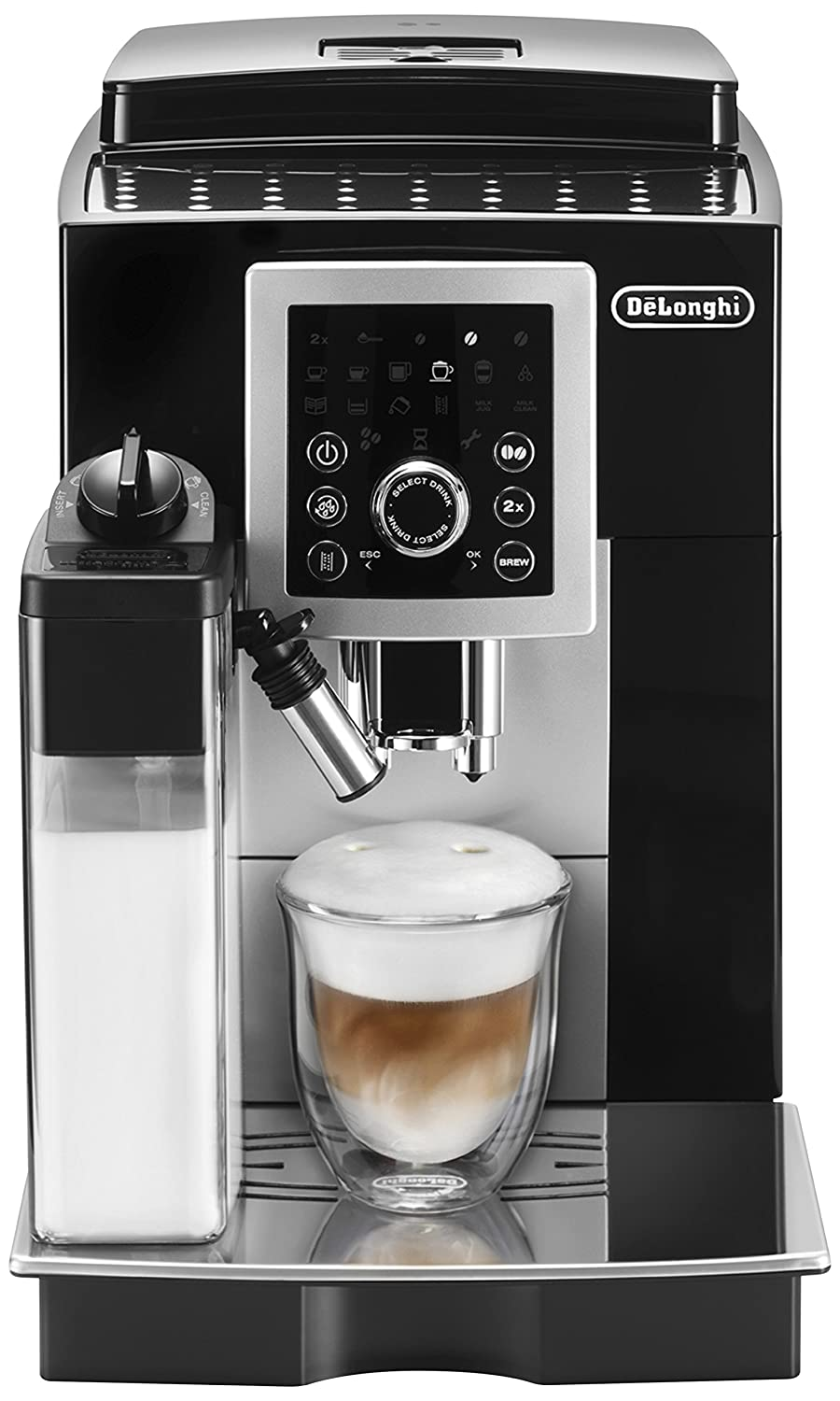 Amazon.com: De'Longhi ECAM23260SB Magnifica Smart Espresso & Cappuccino  Maker, Black: Kitchen & Dining