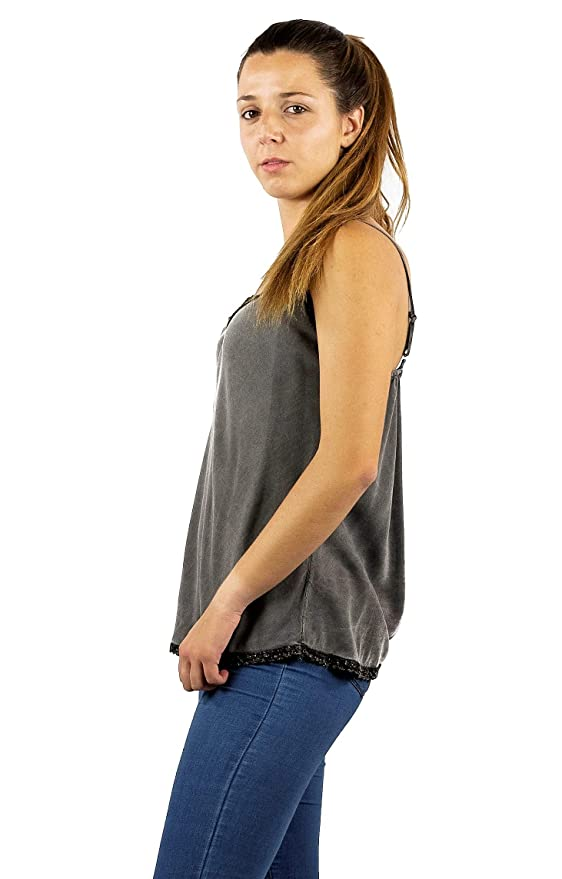 Mers Style - Camiseta de Tirantes Casual Verano, para Mujer
