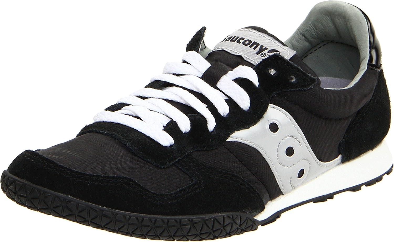 Saucony Originals Women's Bullet Sneaker B00307RY40 5.5 M US|Black/Silver