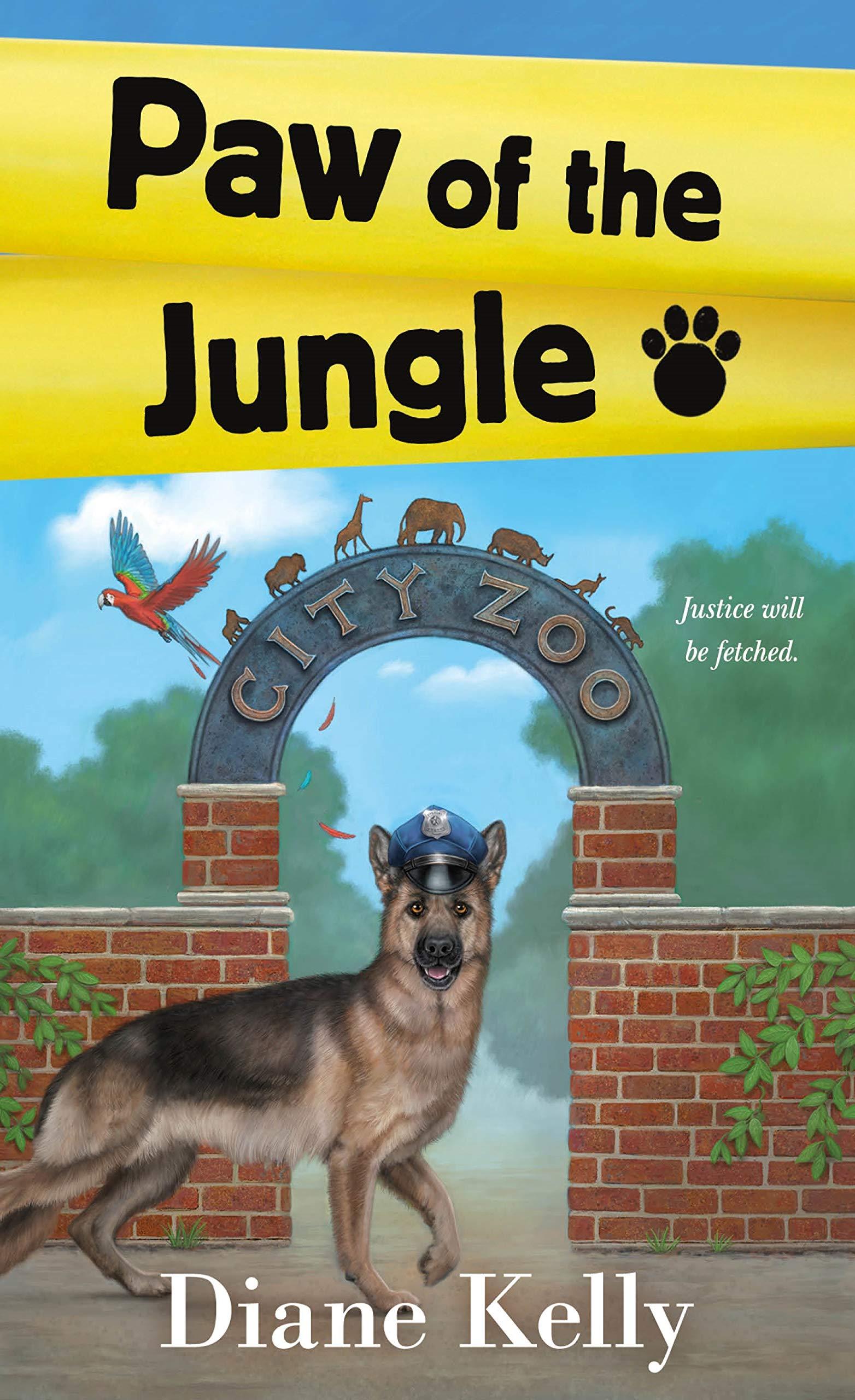 Amazon Com Paw Of The Jungle A Paw Enforcement Novel 9781250197375 Kelly Diane Books