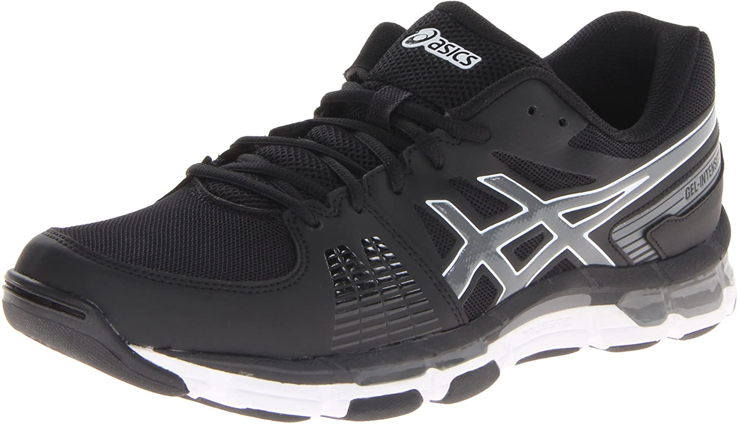 Amazon.com | ASICS Men's Gel-Intensity 3, Black/Smoke/White, 8 M US | Road Running