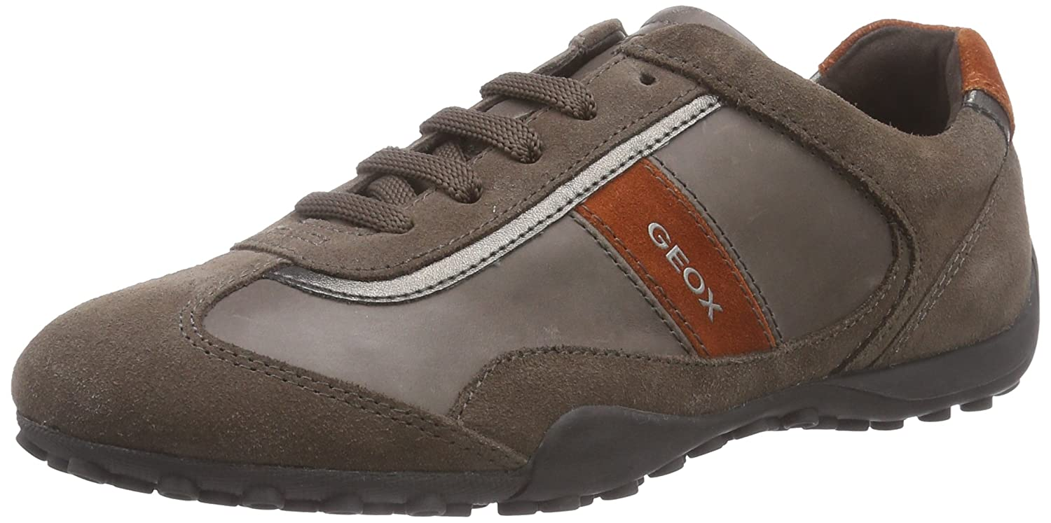 Geox Women's D SNAKE B Trainers Gray Grau C1018DOVE GREY 4 Discount