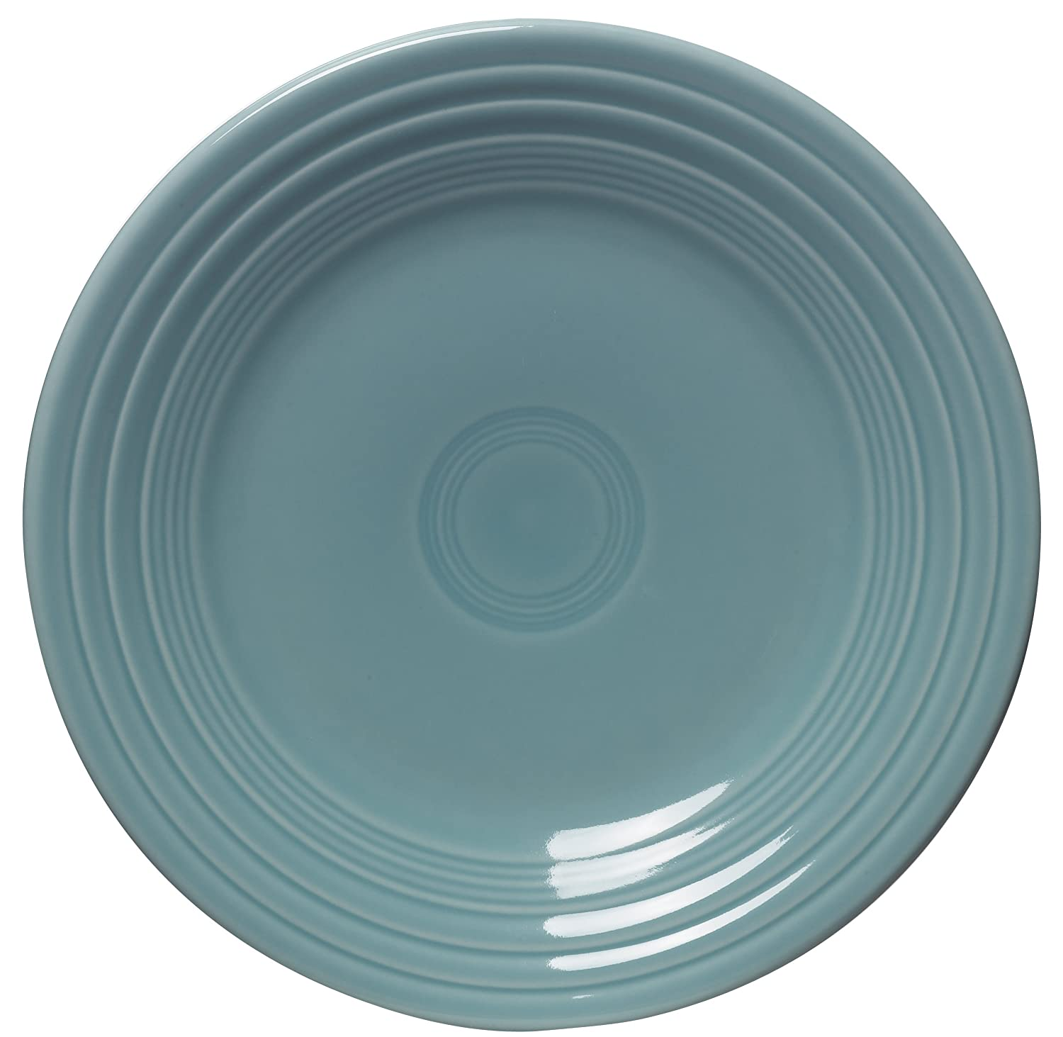 Fiesta 9-Inch Luncheon Plate, Turquoise by Homer Laughlin