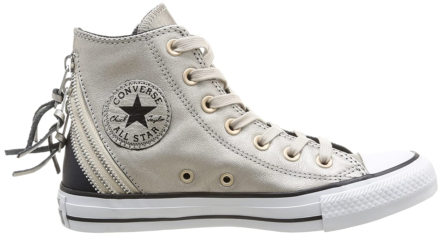 converse hi zip portrait grey