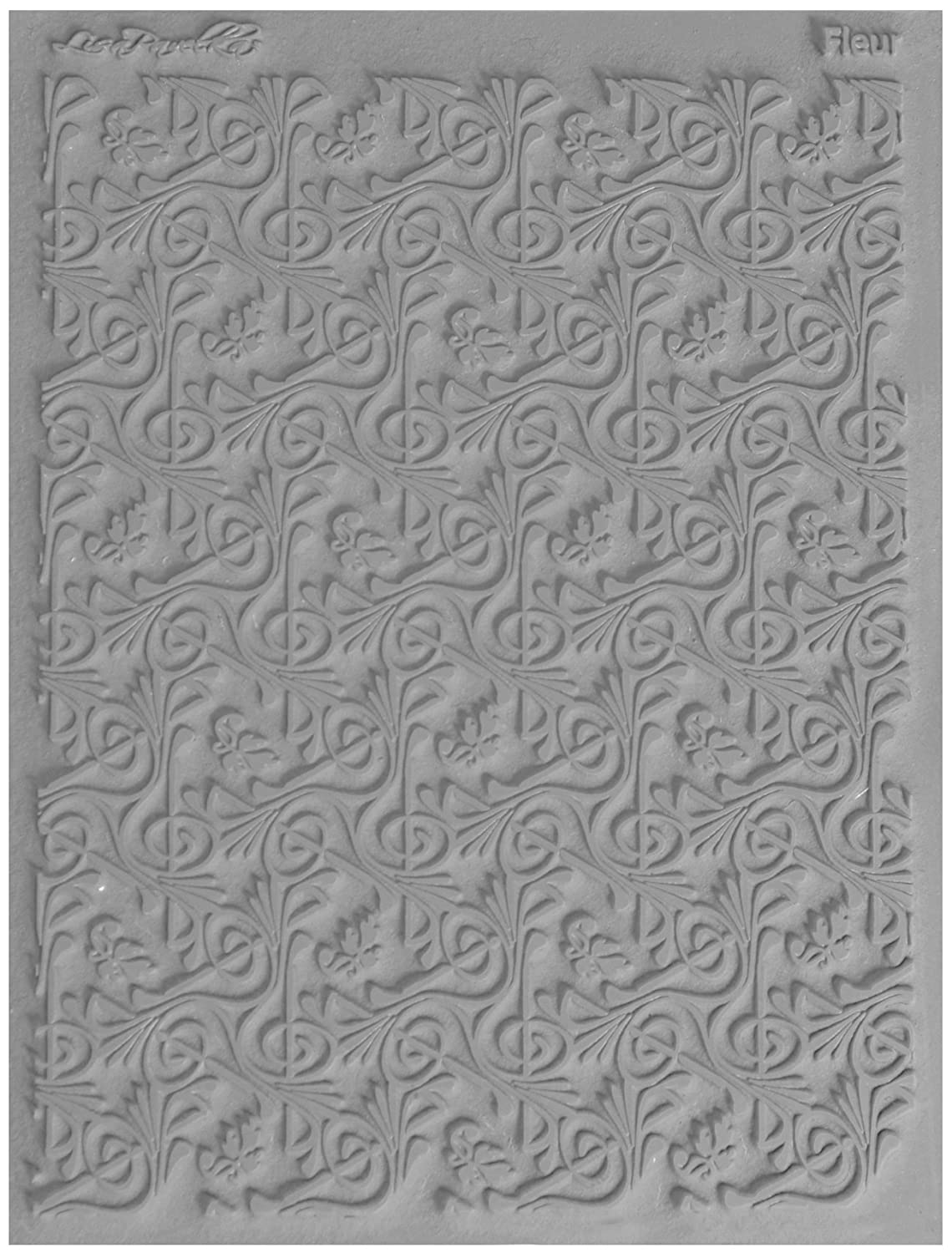 JHB International Inc Great Create Lisa Pavelka Individual Texture Stamp 4.25X5.5 1//Pkg-Fleur