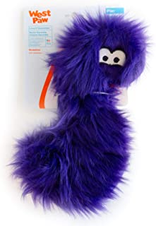 product image for West Paw Geraldine, Rowdies with HardyTex and Zogoflex, Plush Dog Toy, Purple Fur