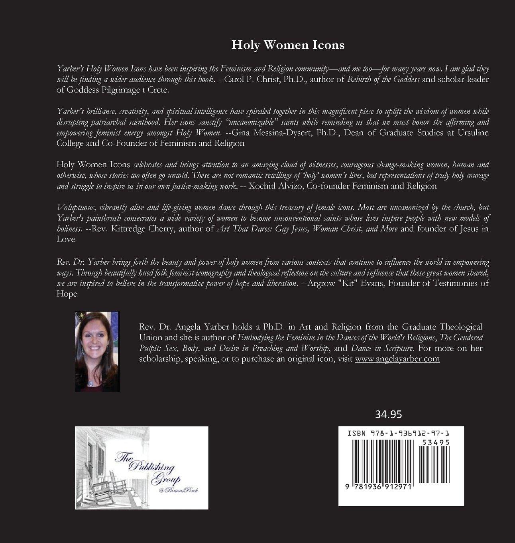holy women icons angela yarber com books