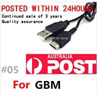 USB Charger Charging Power Cable Cord for Nintendo Game Boy Micro GBM