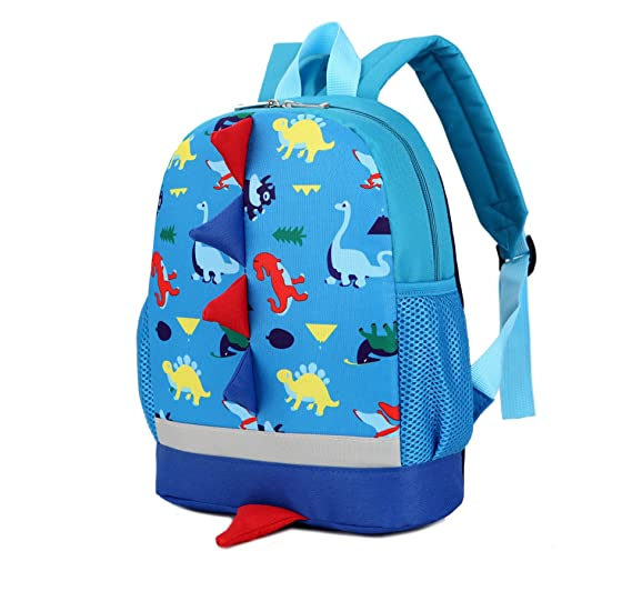a12cb7ca657 ... Cute Toddlers Mini School Bag Multicolor Dinosaur Animal Cartoon Children  Backpack for Baby Girl Boy Age ...