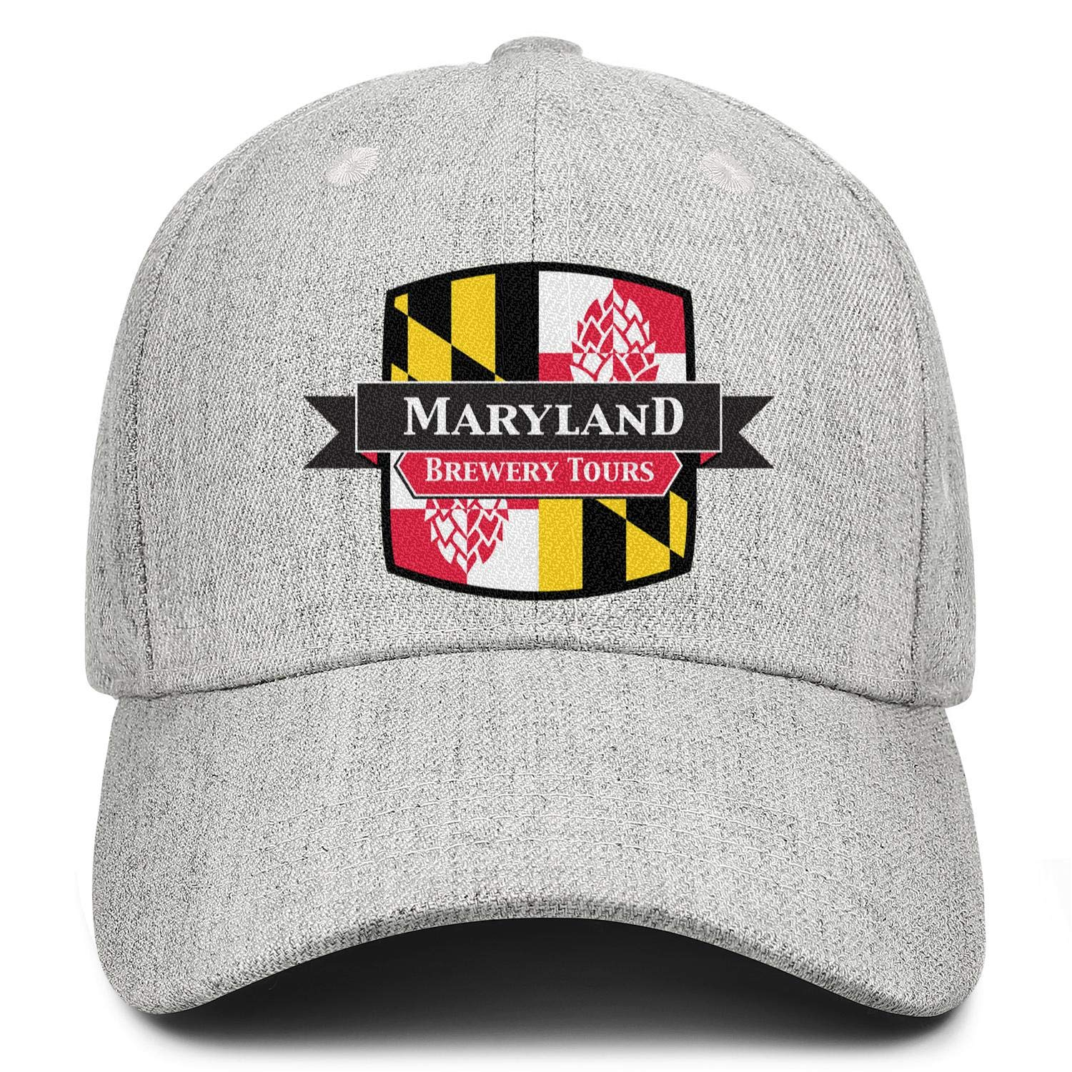 Maryland Baltimore Police Department 2 Skate Hat Unisex Adjustable Duck Tongue Hat Cool Dad Cap