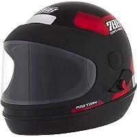 Pro Tork Capacete Sport Moto 788 56 Preto/Vermelho