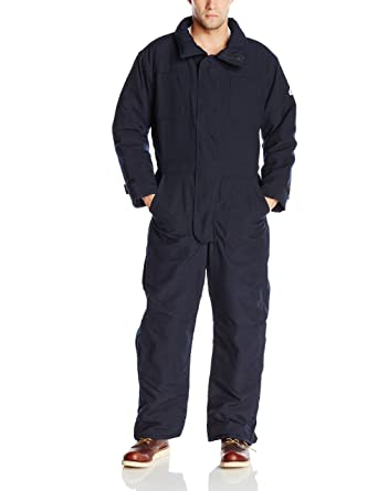 6268d531dddf Amazon.com  Bulwark Flame Resistant 6 oz Nomex IIIA Premium Insulated  Coverall with Knit Storm Cuff  Industrial   Scientific