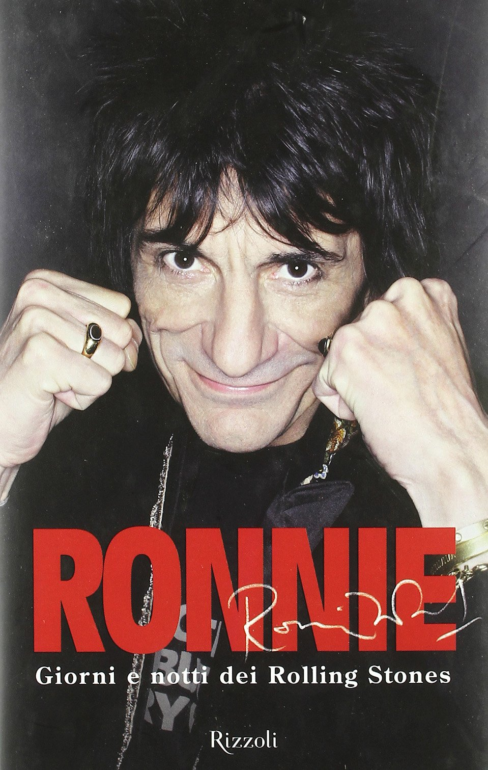Ronnie Wood dating storia