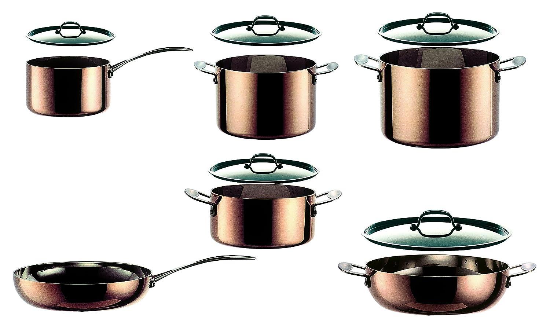 Mepra 30120011 1 Piece Toscana Kitchen Set Copper