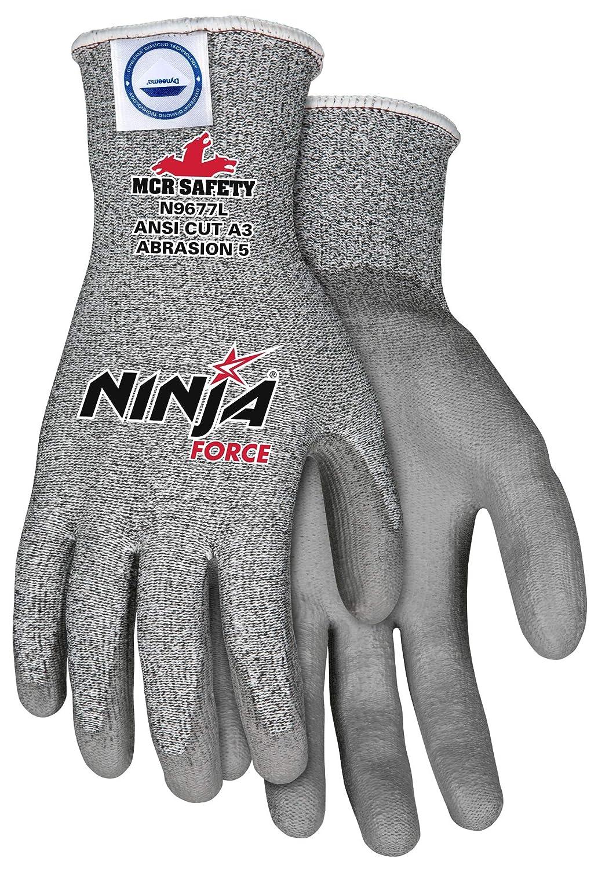 Amazon.com: MCR Safety n9677l Ninja Fuerza de poliuretano ...