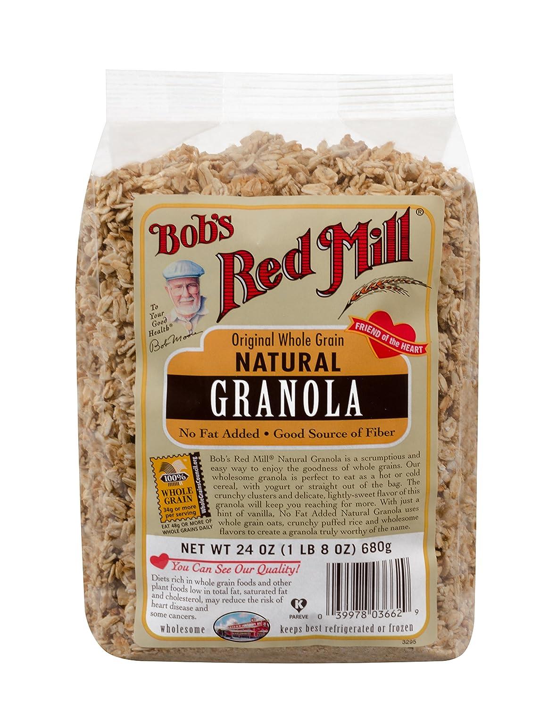 Granola de grano entero natural: Amazon.com: Grocery ...