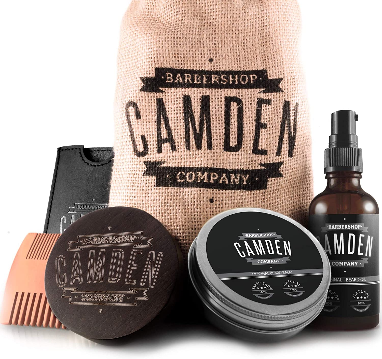 Kit da barba di Camden Barbershop Company
