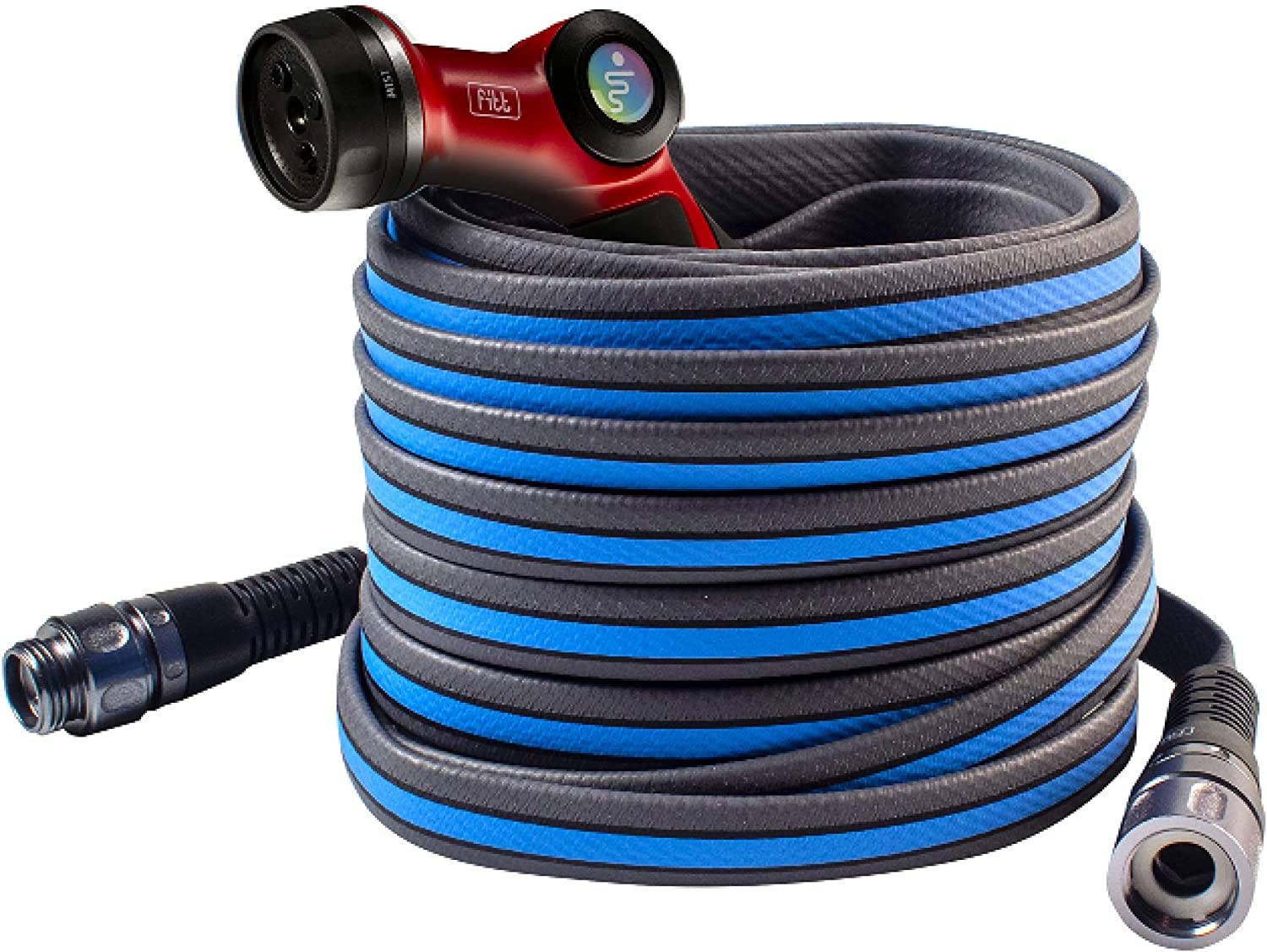 FITT Force Pro Water Hose and Nozzle, 5/8
