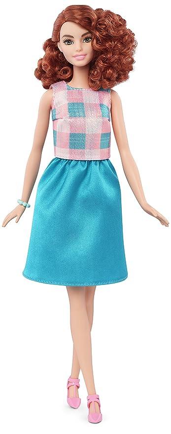 Barbie Fashionistas - Muñeca, Turquesa fantástico (Mattel DMF31): Amazon.es: Juguetes y juegos