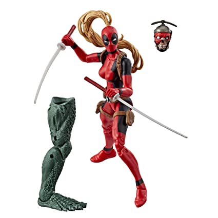 930d59218f2 Amazon.com: Marvel Legends Series 6-inch Lady Deadpool: Toys & Games